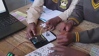 Robotics and coding ignite South African township