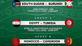 AFCON 2019 qualifying weekend: Salah's Egypt, Burundi and Morocco win