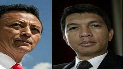 Présidentielle malgache: Rajoelina et Ravalomanana qualifiés pour le deuxième tour
