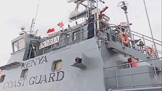 Une unité de garde-côtes au Kenya