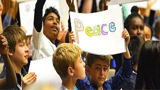 L'UNICEF pour l'éducation des enfants en vue d'une paix durable dans le monde de demain