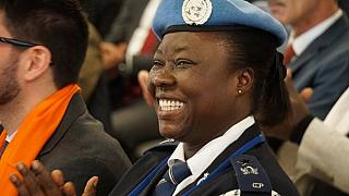 Peacekeeping in Somalia earns Ghanaian policewoman top UN award