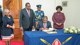 Photos: Kenya, Mozambique sign visa waiver agreement