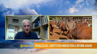 S'Africa constitutional amendment over land reform [The Morning Call]