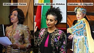 Africa's female election chiefs: Ethiopia, Zimbabwe, Ghana
