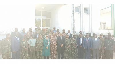 Photo: Ethiopia's female defense minister stands out in 'sea of generals'