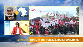Civil servants in Tunisia on strike [The Morning Call]