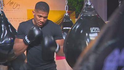Boxe : Josua rêve d'un titre mondial unifié