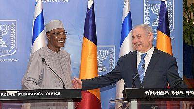 Chad - Israel reestablish bilateral ties on Idris Deby's historic visit