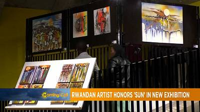 Rwandan artist honors 'sun' in new exhibition [The Morning Call]