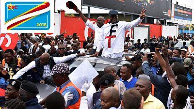 RDC : marée humaine à Kinshasa pour accueillir Tshisekedi et Kamerhe