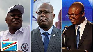 DRC polls: Tshisekedi, Fayulu and Shadary unveil campaign programs