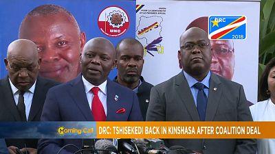 DRC's opposition leader Felix Tshisekedi returns to Kinshasa [The Morning Call]