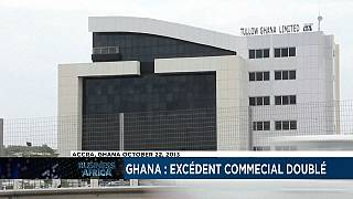 Ghana:Trade surplus more than doubles