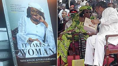 'It takes a woman:' Ghana's ex-First Lady publishes first memoir