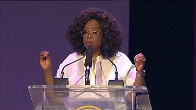"""""""Votre jour viendra"""" - Le message d'Oprah Winfrey à la jeunesse sud-africaine"""