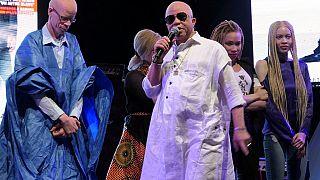 Fin de carrière pour Salif Kéita, engagé dans la protection des albinos