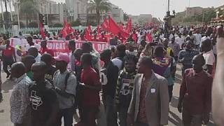 Burkina Faso: Protest against fuel price increase