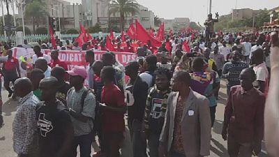 Burkina Faso: Protest against fuel price increase