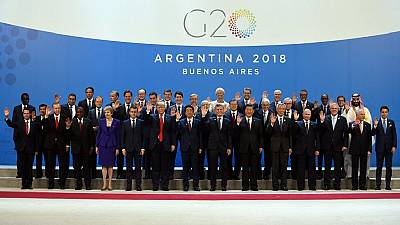 Ramaphosa, Kagame, two other Africans at 2018 G20 summit