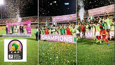 CAN féminine 2018 : le Nigeria sacré champion d'Afrique en battant l'Afrique du Sud en finale