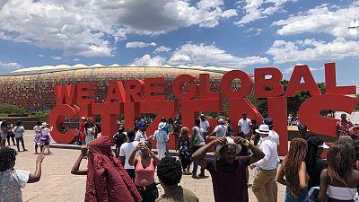 Video: World's best musicians perform at Mandela festival in S. Africa