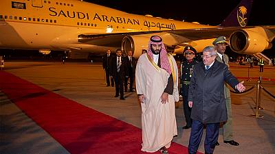 Algerian president cancels bin Salman meeting over cold""