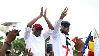 Elections en RDC : premier meeting sous la pluie et faux départ pour l'opposition
