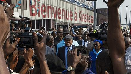 Thousands of supporters welcomed opposition leaders Tshisekedi and Kamerhe to Congo [No Comment]