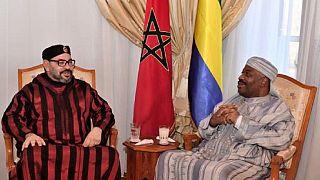 Morocco king visits Gabon president in Rabat hospital