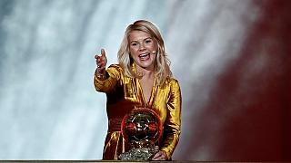 Women's football: Norway's Hegerberg wins inaugural Ballon d'Or award