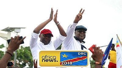 """Élections en RDC : le """"ticket"""" Tshisekedi-Kamerhe à la conquête de l'Est"""