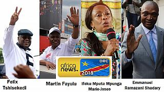[List] DRC polls: 20 men, 1 woman aiming to replace Kabila