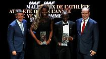 Le Kényan Kipchoge athlète IAAF de l'année