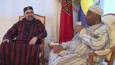Mohammed VI au chevet de Ali Bongo à l'hôpital militaire de Rabat