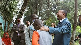 Photos: Ethiopia PM hosts students to mark 2018 'Unity Day'
