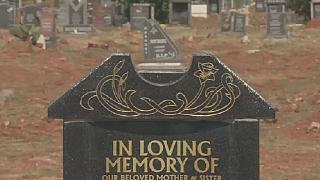 Shortage of graves to bury the dead hit South African cities