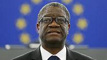 Dr Mukwege dédie son Nobel aux femmes...