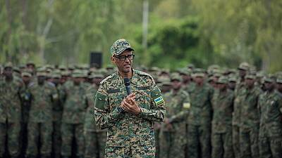 Photos: Kagame says Rwanda's army can deal with 'enemies'