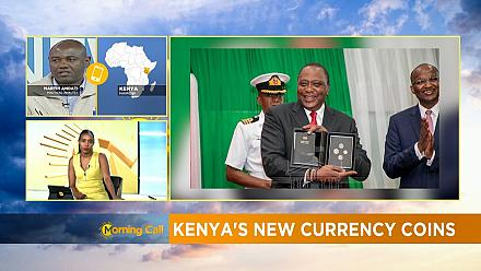 Kenya's new currency coins [The Morning Call]
