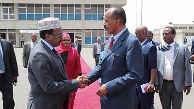 Eritrea president in Somalia for official visit, will proceed to Kenya