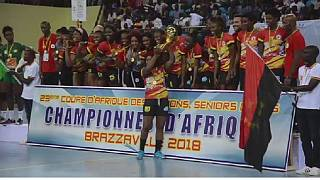 L'Angola s'adjuge la CAN dames de handball organisée à Brazzaville