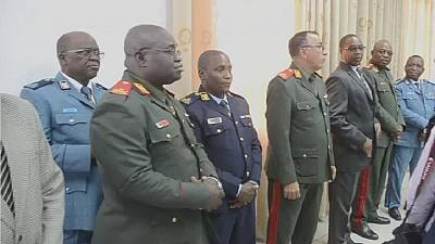 Mozambique government appoints three former rebels to state army.
