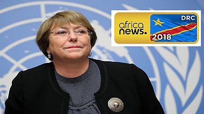 UN worried about DRC polls, gov't pledges to improve security