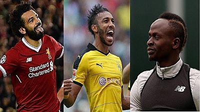 Joueur africain de l'année 2018 : Salah, Mané, Aubameyang dans la short-list