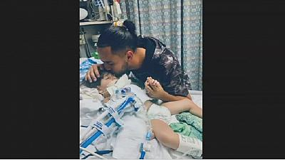 Travel ban: father of dying child pleads with officials to allow mum into the U.S