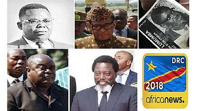 Photos : les leaders de la RDC de 1960-2018 Lumumba, Mobutu, Kabila