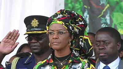 Afrique du Sud : mandat d'arrêt contre Grace Mugabe