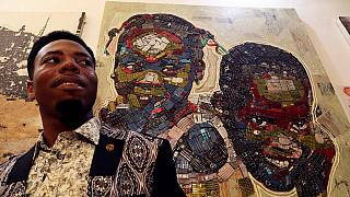 Ivory Coast artist breathes fresh life to e-waste
