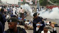 Congolese rally for opposition candidate despite halt to campaigning [no comment]